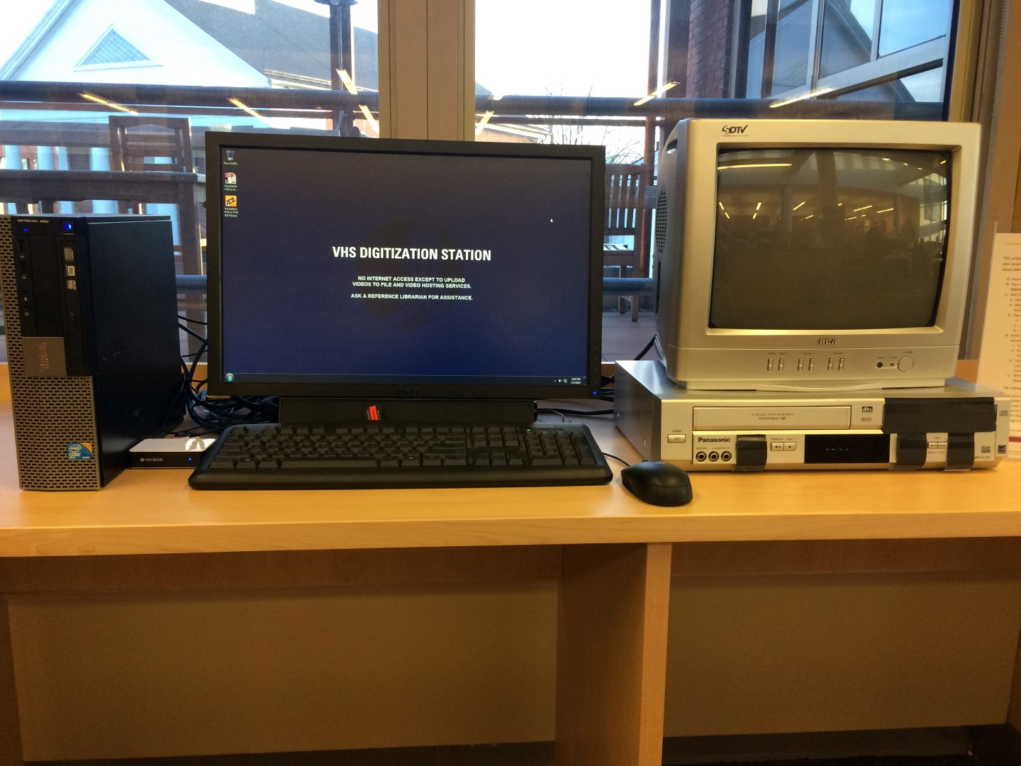 VHS Digitization Station